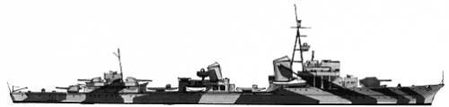 DKM Z31-39 (Destroyer) (1941)