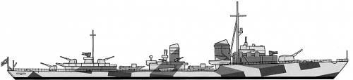 DKM Z37 (Destroyer)