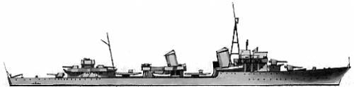 DKM Z43-45 (Destroyer) (1944)