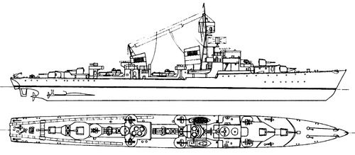 DKM Z-51 (Destroyer)