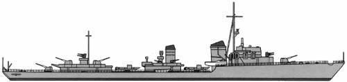 DKM Z-Class (Destroyer) (1940)