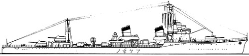 IJN Akebono 1939 [Destroyer]