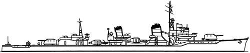 IJN Akigumo 1944 [Destroyer]