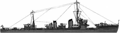 IJN Hasu (Destroyer) (1945)