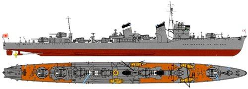 IJN Hatsuyuki 1941 (Destroyer)