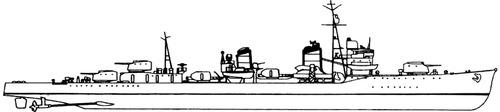 IJN Kagero 1939 [Destroyer]