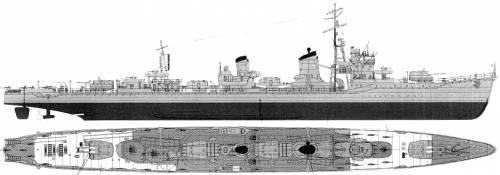 IJN Kagero (Destroyer) (1945)