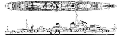 IJN Nenohi 1933 (Destroyerl)