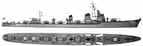 IJN Shimakaze (Destroyer) (1943)