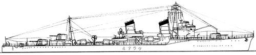 IJN Uranami 1936 (Destroyer)