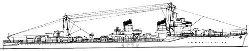IJN Uranami 1943 (Destroyer)