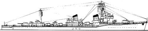 IJN Ushio 1945 [Destroyer]