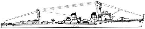 IJN Usugumo 1944 (Destroyer)
