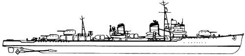 IJN Yugumo 1941 [Destroyer]