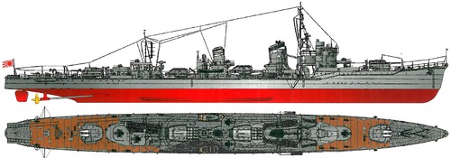 IJN Yukikaze 1945 [Destroyer]
