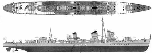 IJN Yukikaze (Destroyer)