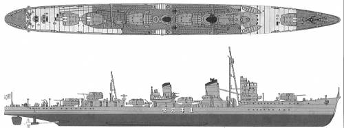 IJN Yukikaze (Destroyer) (1942)