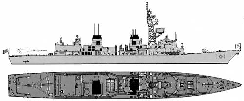 JMSDF DD-101 Murasame (Destroyer)