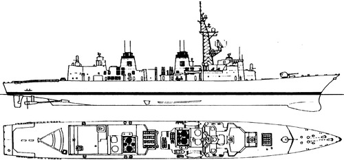 JMSDF Murasame DDG-101 (Destroyer)