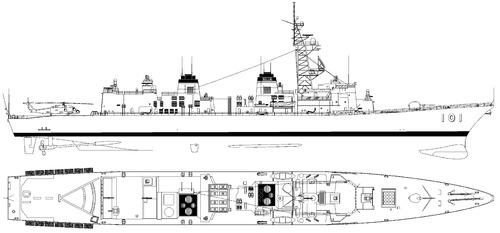 JMSDF Murasame DDG-101 (Destroyer)