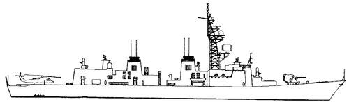 JMSDF Takanami DD-110 (Destroyer)