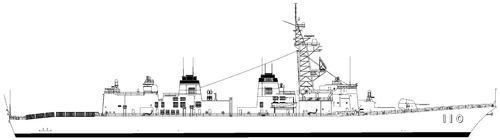 JMSDF Takanami DDG-110 (Destroyer)