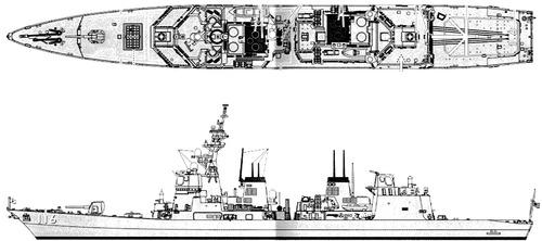 JMSDF Teruzuki DD-116 (Destroyer)