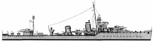 HMS Achates (Destroyer) (1942)