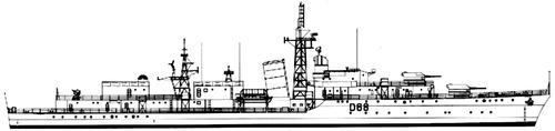 HMS Barrosa D68 (Destroyer)