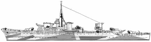 HMS Brissenden (Destroyer Escort) (1944)