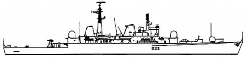 HMS Bristol D23 (Destroyer)