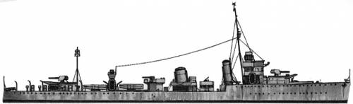 HMS Broke (Destroyer) (1942)