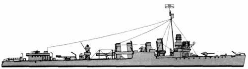 HMS Buxton (Destroyer) (1942)