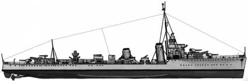 HMS Campbell (Destroyer) (1940)