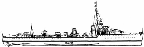 HMS Campbell (Destroyer) (1942)