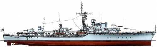 HMS Daring (Destroyer)