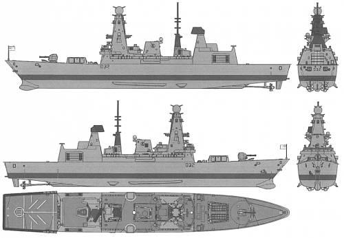 HMS Daring (Type 45 Destroyer)