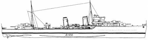 HMS Diamond (Destroyer) (1935)