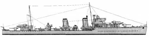 HMS Eclipse (Destroyer) (1939)