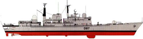 HMS Edinburgh D97 2003 (Type 42 Destroyer)