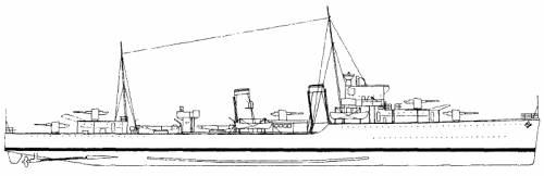 HMS Faulknor (Destroyer) (1940)