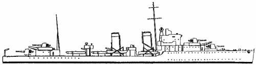 HMS Glowworm (Destroyer) (1940)