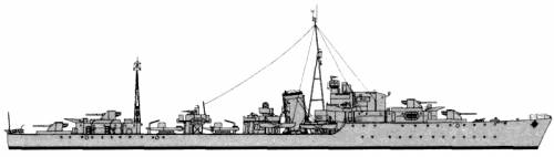 HMS Grenville (Destroyer) (1944)
