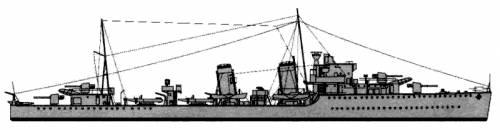 HMS Greyhound (Destroyer) (1939)