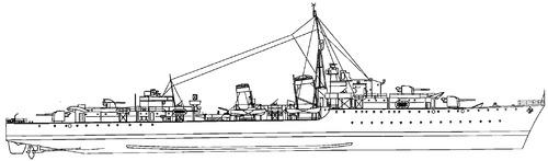 HMS Iroquis 1942 [Destroyer]