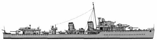 HMS Ithuriel (Destroyer) (1942)