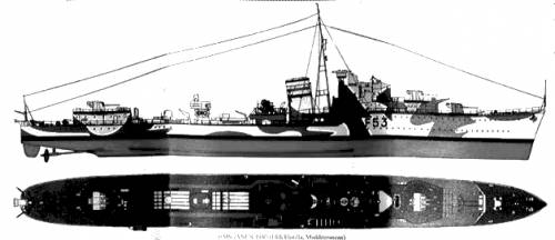 HMS Janus (Destroyer) (1940)