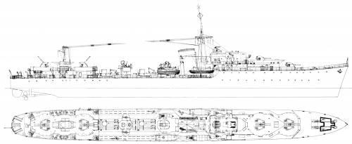 HMS Lance (Destroyer) (1940)