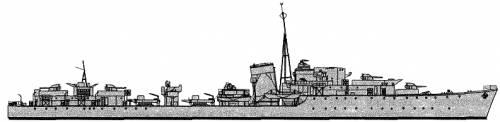 HMS Lance (Destroyer) (1942)