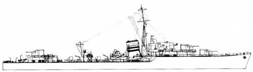 HMS Loyal (Destroyer) (1942)